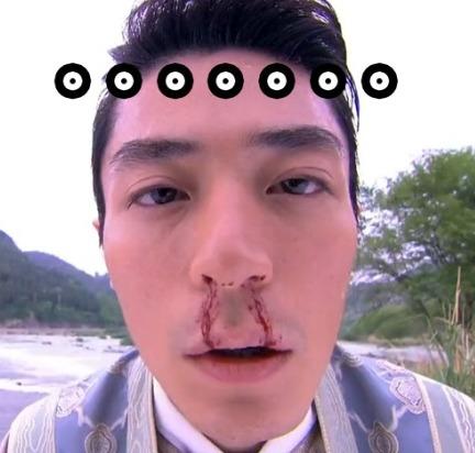 流鼻血。。。