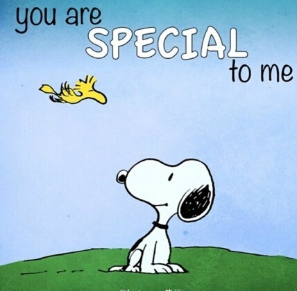 your are special to me