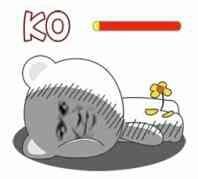 KO,菊花残