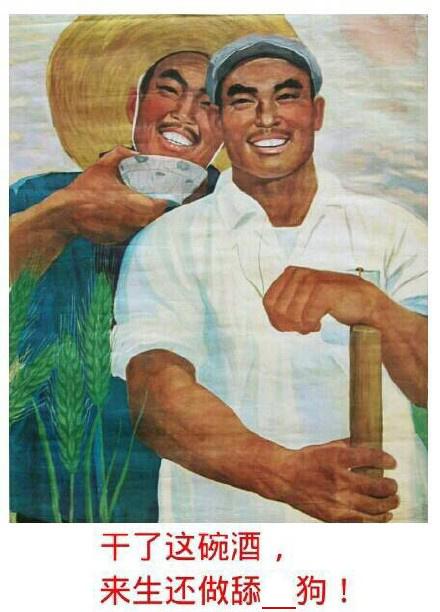来生还做舔狗 80年代海报恶搞表情填词 斗图大会 金 图片