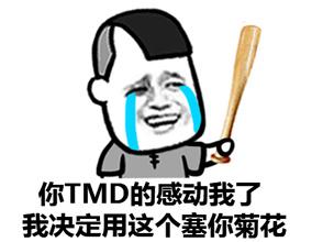 你TMD感动到我了 我决定用这个塞你菊花