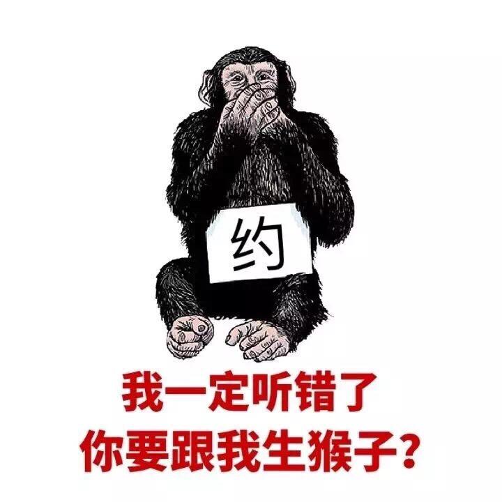 我一定听错了,你要跟我生猴子?