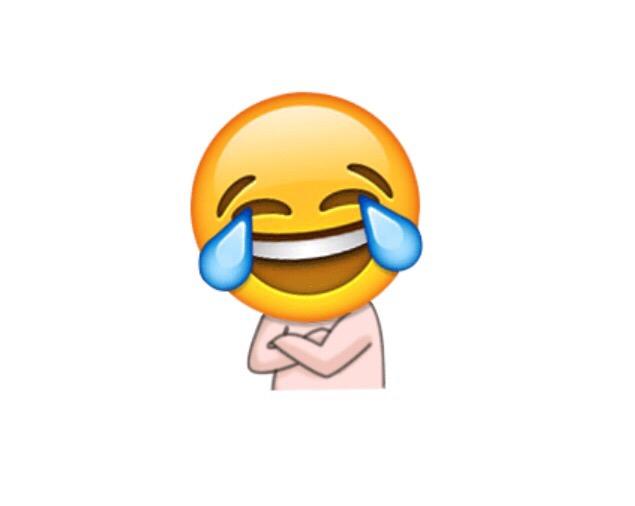 emoji笑哭
