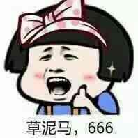 草泥马,666