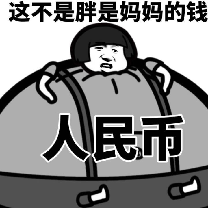 这不是胖是妈妈的钱人民市