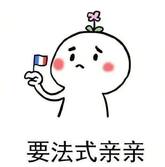 要法式亲亲