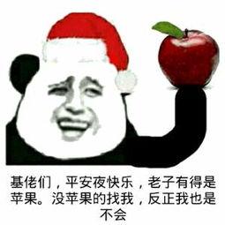 基佬们,平安夜快乐,老子有得是苹果。没苹果的找我,反正我也是不会