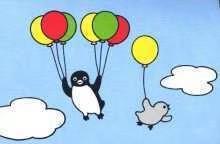气球飞起来了