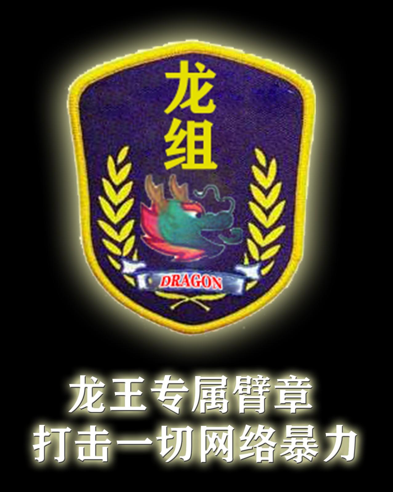 龙王专属臂章,打击一切网络暴力
