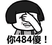 Y你484傻!